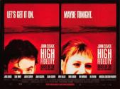 high fidelity film poster