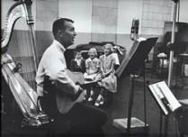 De Gilkysons in de studio