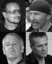 U2 in vier portretten