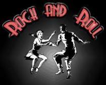 dansende mensen rock and roll