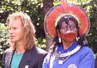 Sting met indiaan