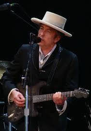 Bob Dylan met hoed