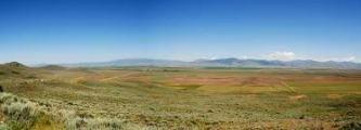 prairie landschap Idaho