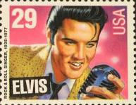 Elvis Presley postzegel