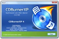cd burnerXP