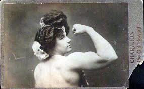 sterke vrouw