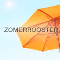 Zomerrooster parasol