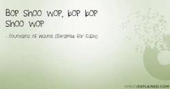 bop-shoo-wop
