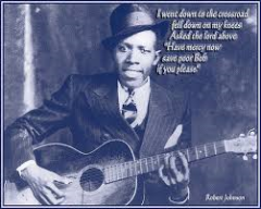 Robert Johnson met tekst