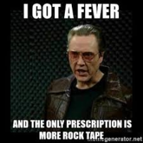 Christopher Walken more rock tape
