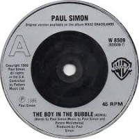 single The Boy in the Bubble van Paul Simon