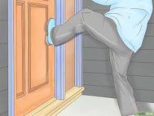 deur intrappen