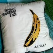 kussensloop met 'banaan'