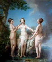 drie nimfen