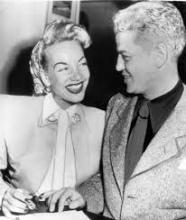 Celia Cruz en Tito Puente nog vrij jong