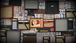 kamer met veel muziek