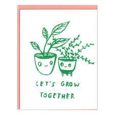 met elkaar meegroeien
