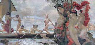 Sirenen en Odysseus