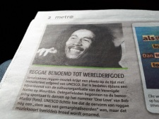 krantenartikel UNESCO reggae low res