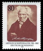 Schopenhauer postzegel