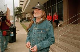 Willie Nelson in spijkerjack