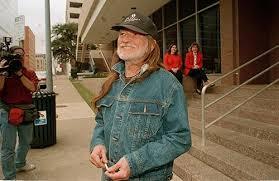Willie Nelson in spijkerjack