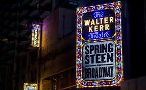 walter kerr theatre springsteen