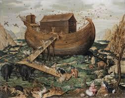 schilderij ark van noach