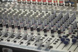 knoppen in studio