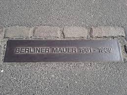 plakkaat Berliner Mauer