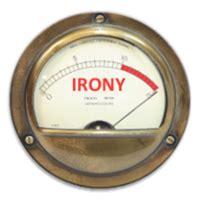 irony dial