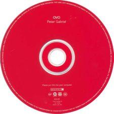 cd-label OVO van Peter Gabriel