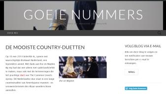 screendump Goeie Nummers 1e blogpost