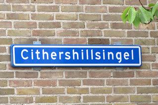 straatnaambord Cithershillsingel