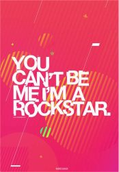 Je kunt mij niet zijn ik ben een rockster