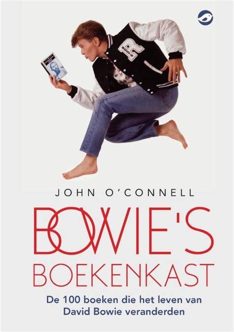 boek Bowie's boekenkast